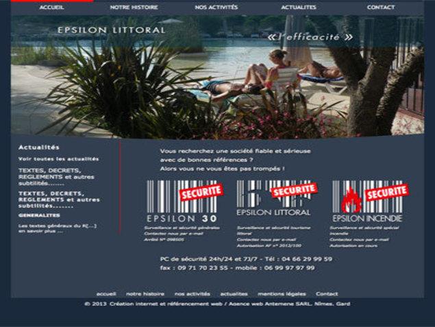 Antemene, créateur de sites web à Nîmes, Gard | Epsilon littoral, Industrie , -1