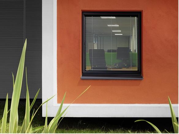 Fenêtre air ouvrant respirant (+store intégré)