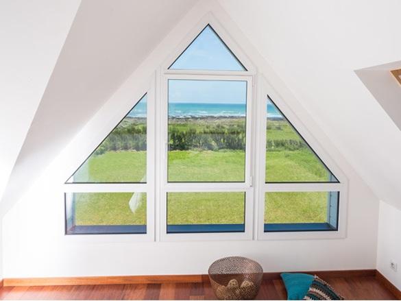 Fenêtre à forme spéciale