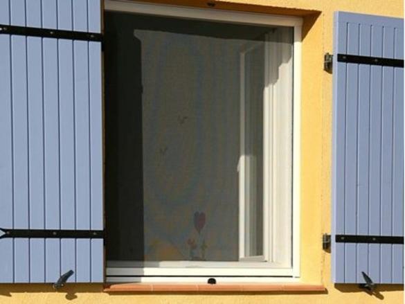 Insectiquaires fenêtres enroulables